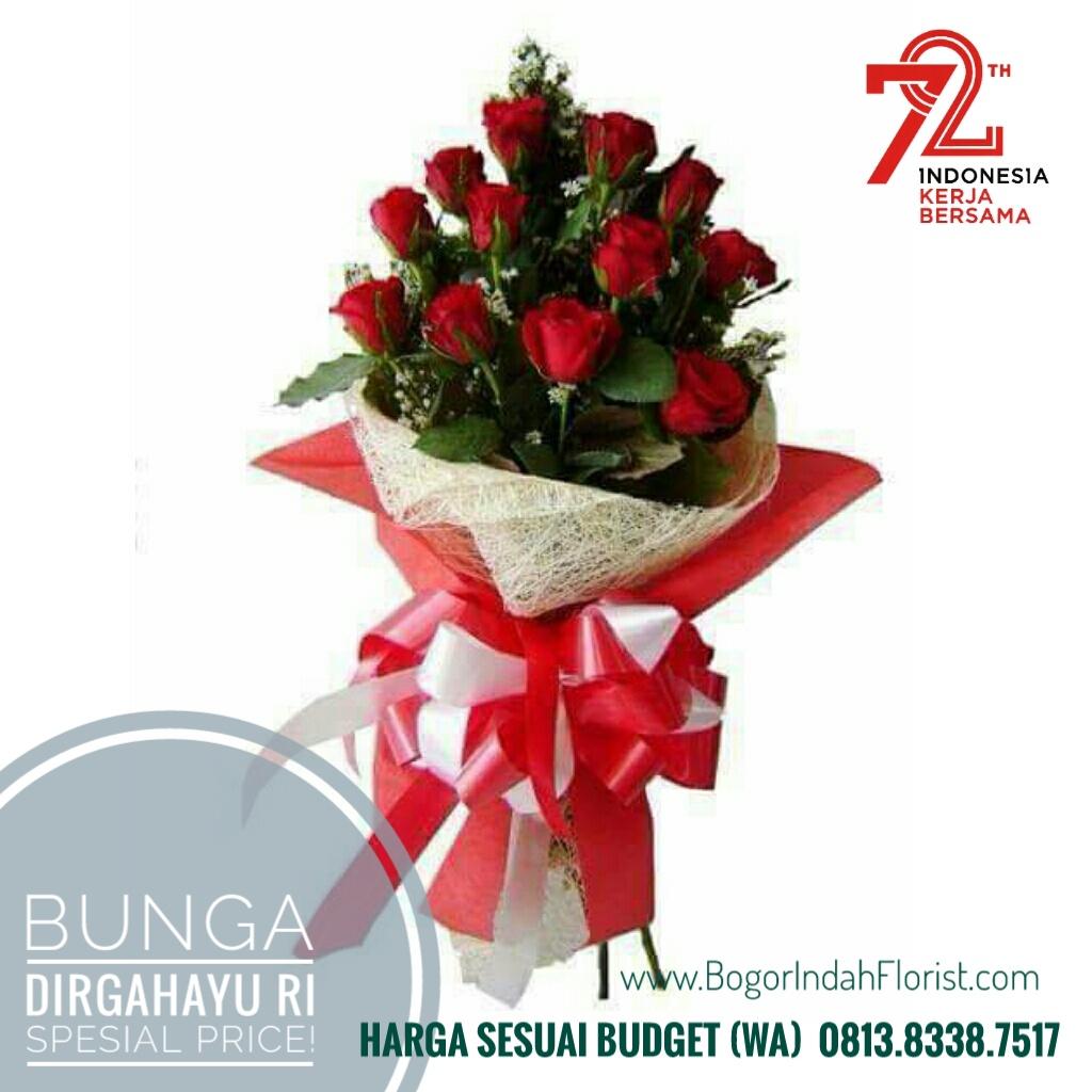 Karangan Bunga Dirgahayu RI